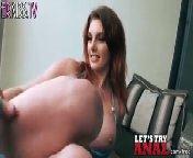 скриншот для Скачать порно бесплатно: Рыженькая Rainia Belle принимает хуй в задницу