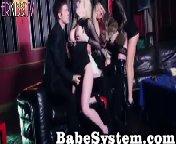 скриншот для Скачать порно бесплатно: Групповушка с похотливыми блядями на закрытой вечеринке
